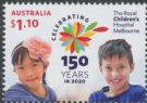 AUS 07/07/2020 $1.10 150th Anniversary of The Royal Children's Hospital Melbourne